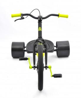 18inch triad trike green-front