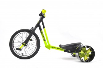 18inch triad trike green-side