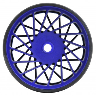 72009 vanguard rear wheel kit black-blue side